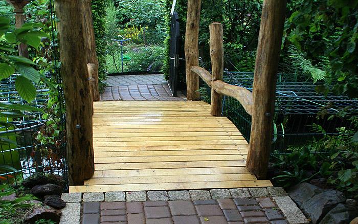 Holzarbeiten - Brücke
