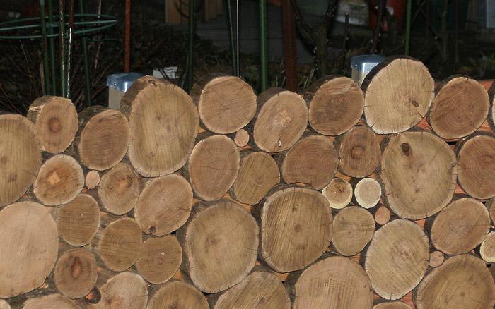 Holzarbeiten - Wand