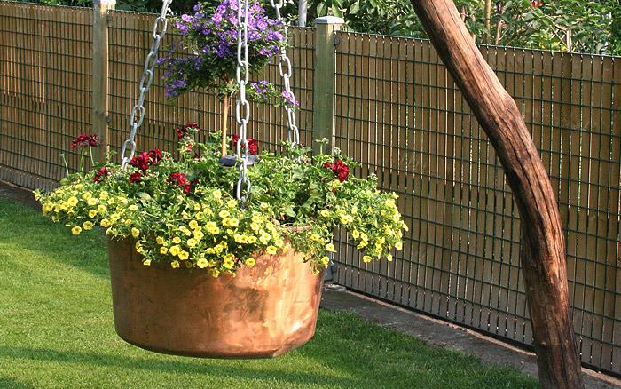 Holzarbeiten - Blumentopf