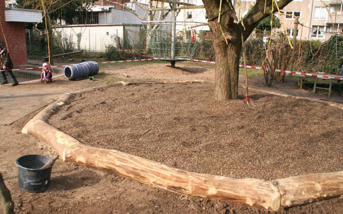 Holzarbeiten - Abgrenzung