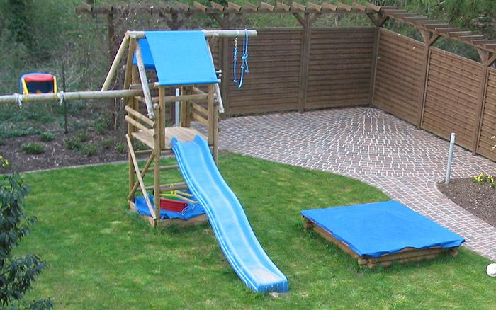 Holzarbeiten - Spielplatz